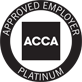 ACCA: Approved Employer Platinum